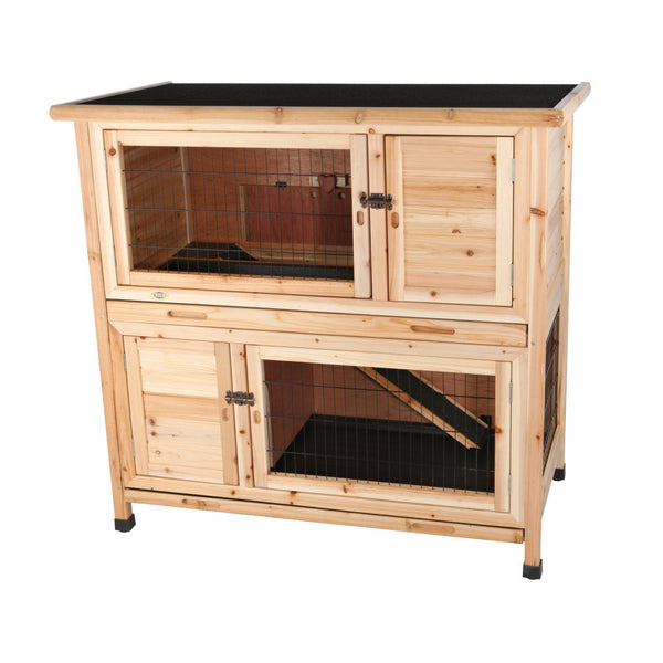Trixie Two Story Rabbit Hutch Cage Trixie 2 Grande Jpg V