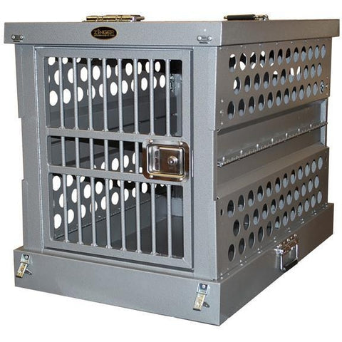 Zinger Aluminum Collapsible Dog Crate-Crate-Zinger-3000 - 34 L x 22.5 W x 26 H-Pet Crates Direct