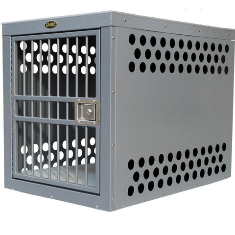 Zinger Aluminum Deluxe Dog Crate-Crate-Zinger-3000 - 30 L x 21 W x 24 H-Pet Crates Direct