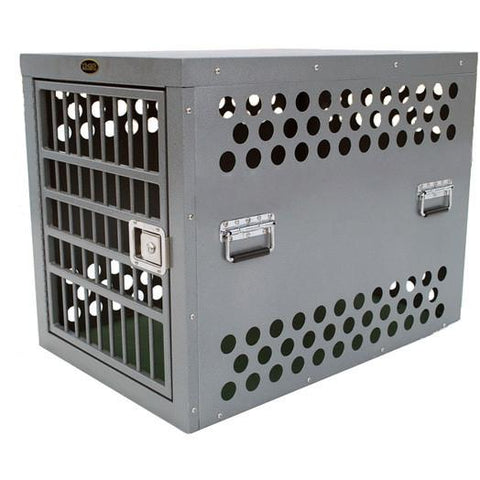 Zinger Aluminum Escape Artist Professional Series Dog Crate-Crate-Zinger-3000 - 30 L x 21 W x 24 H-Pet Crates Direct