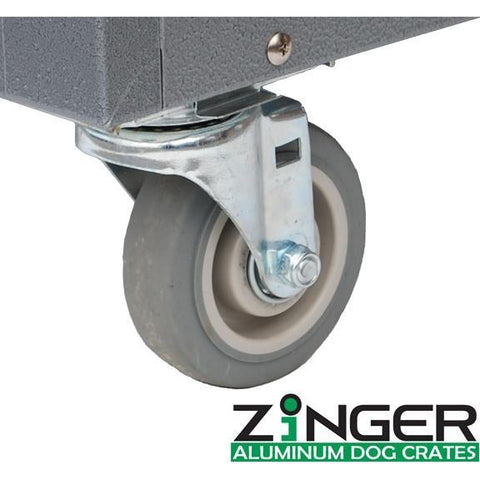 Zinger Removable Caster Wheels-Accessories-Zinger-Pet Crates Direct