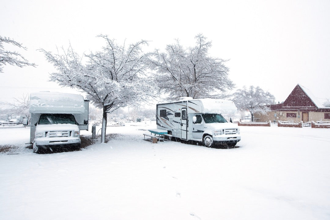 Winterizing RVs for the colder weather