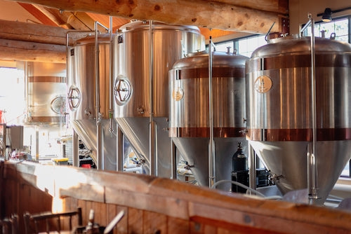 Take a tour to see how beer is made
