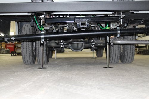 Photo courtesy of Bigfoot Leveling. Installation done at their headquarters in White Pigeon, Michigan.