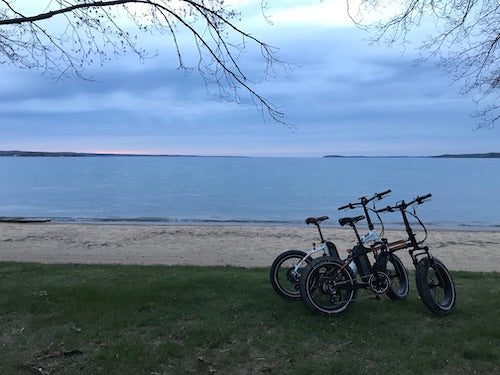 Biking in Michigan led us to so many special places.