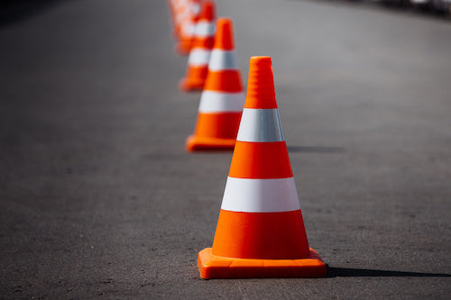 You can set up cones in an empty parking lot to practice driving and backup on your rig. Practice makes perfect!