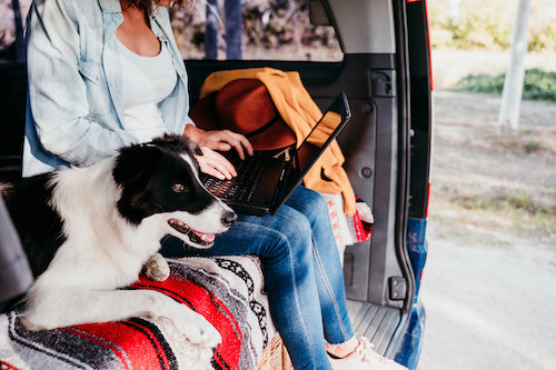 Keeping family and friends informed of your route and travel schedule not only gives them peace of mind but is an extra safety precaution for yourself.