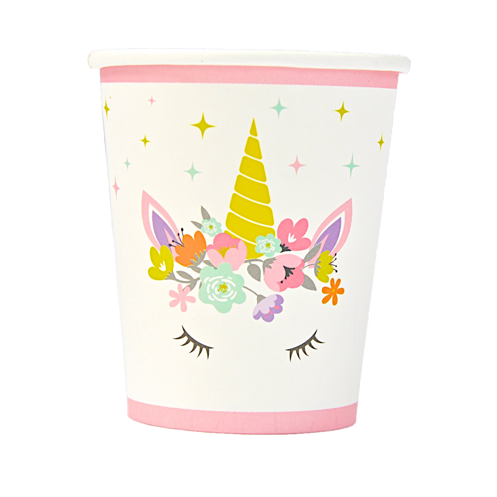 Unicorn Cups - Set of 16