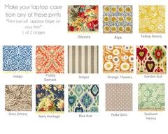 Fabric Swatches 22 Options to Choose From