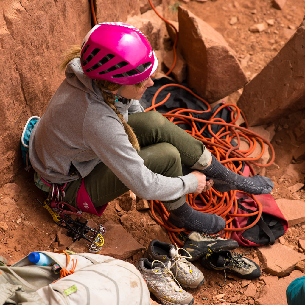 Point6 Women's Merino Wool Socks Rock Climbing