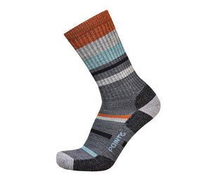 Hiking Mixed Stripe Light Crew - 37.5 Options