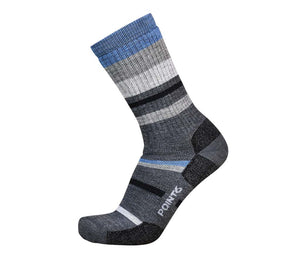 Hiking Mixed Stripe Medium Crew - 37.5 Options