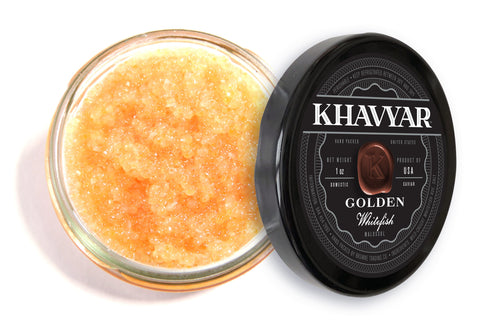 golden whitefish caviar