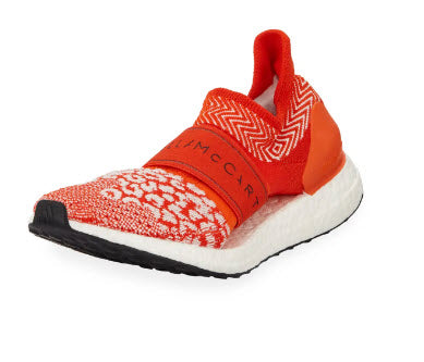 Adidas ULTRABOOST X 3D KNIT SHOES Stella McCartney Core White/Bold Orange
