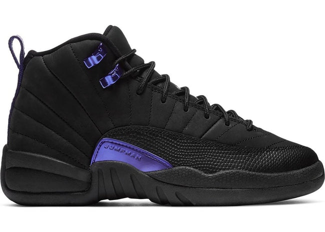 PREORDER Jordan 12 Retro Black Dark Concord (GS)