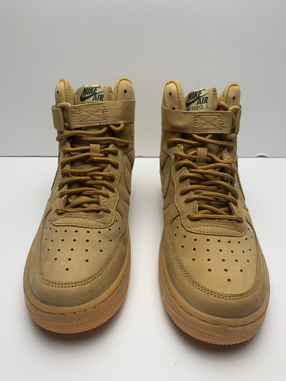 Air Force 1 High Wheat Gum 2018 (GS)