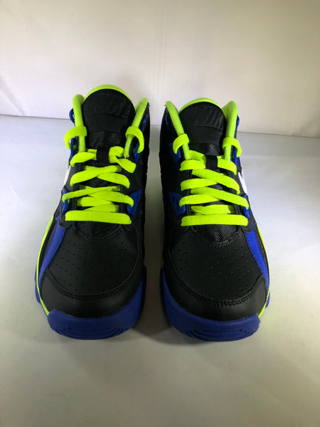 "Air Trainer SC ""Black/White-Hyper Blue-Volt"" GS"