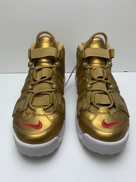 Air More Uptempo Supreme Suptempo Gold