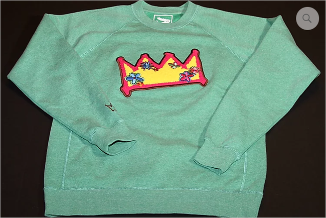 Historian Threads Me, My-Crown & I Crew Neck Sweatshirt