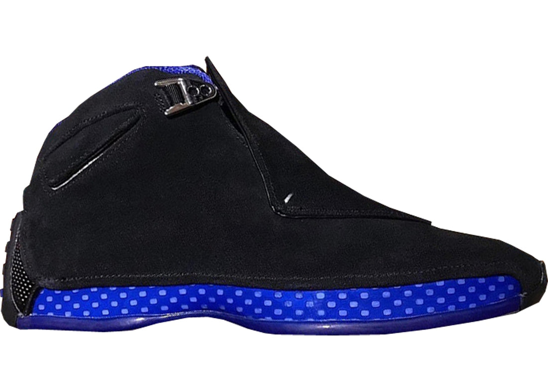 Jordan 18 Retro Black Sport Royal
