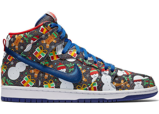 "Nike Dunk SB High Concepts ""Ugly Christmas Sweater (2017)"""