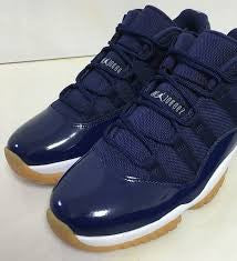 "Jordan 11 Retro Low ""Navy Gum"""