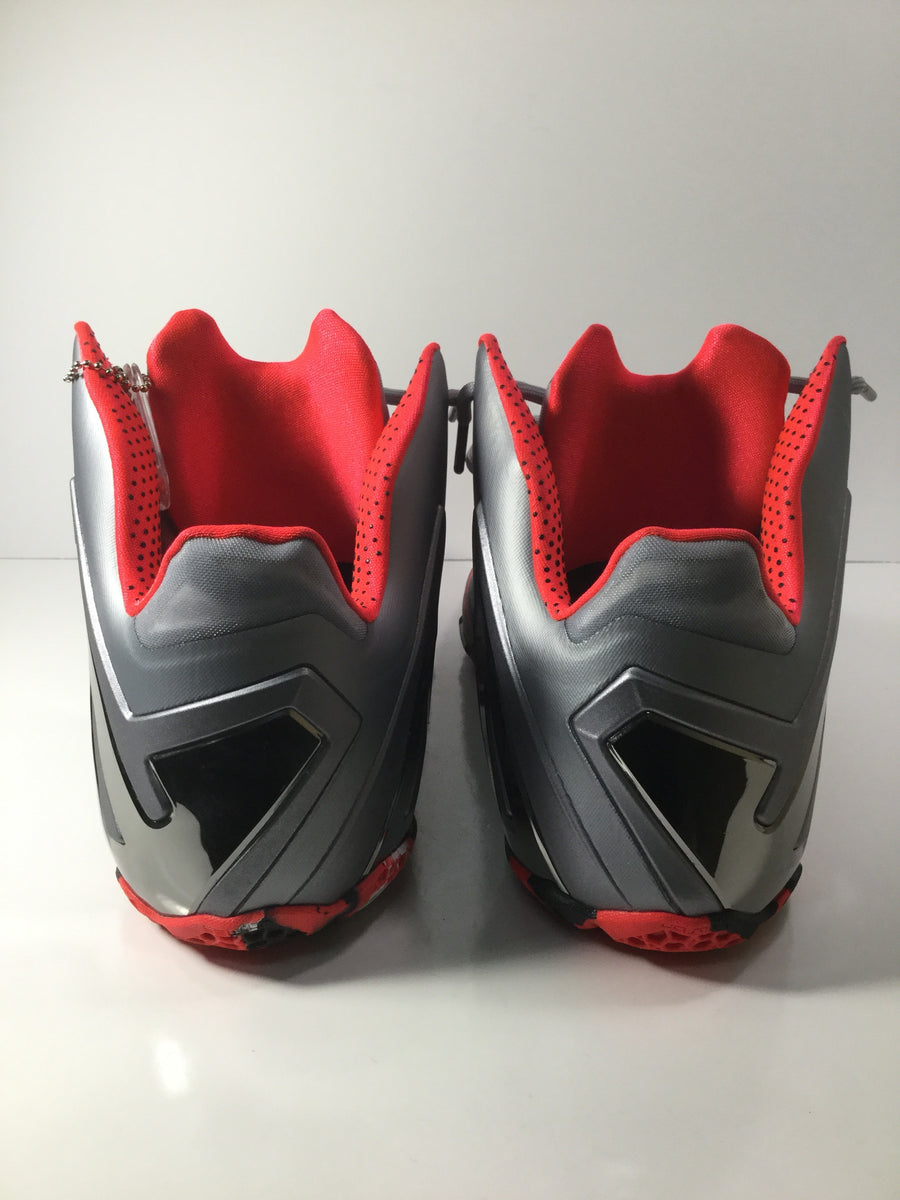"LeBron 11 Elite ""Wolf Grey"" - Used"
