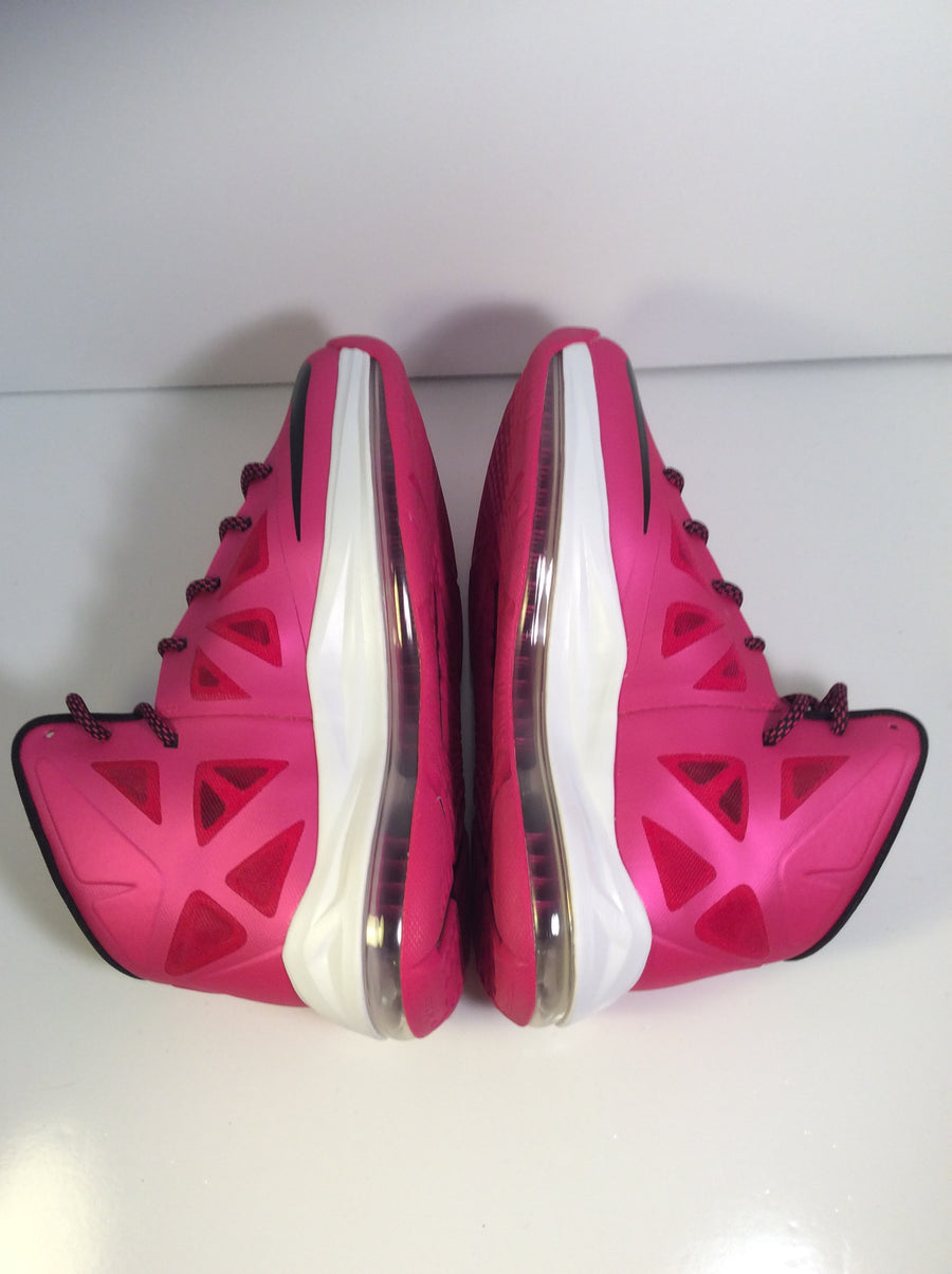 "Lebron 10 ""Fireberry"" GS - Used"