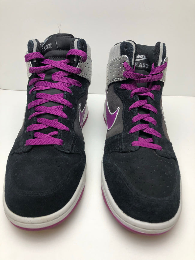 Nike Dunk High Premium BLACK/RED PLUM ANTHRACITE