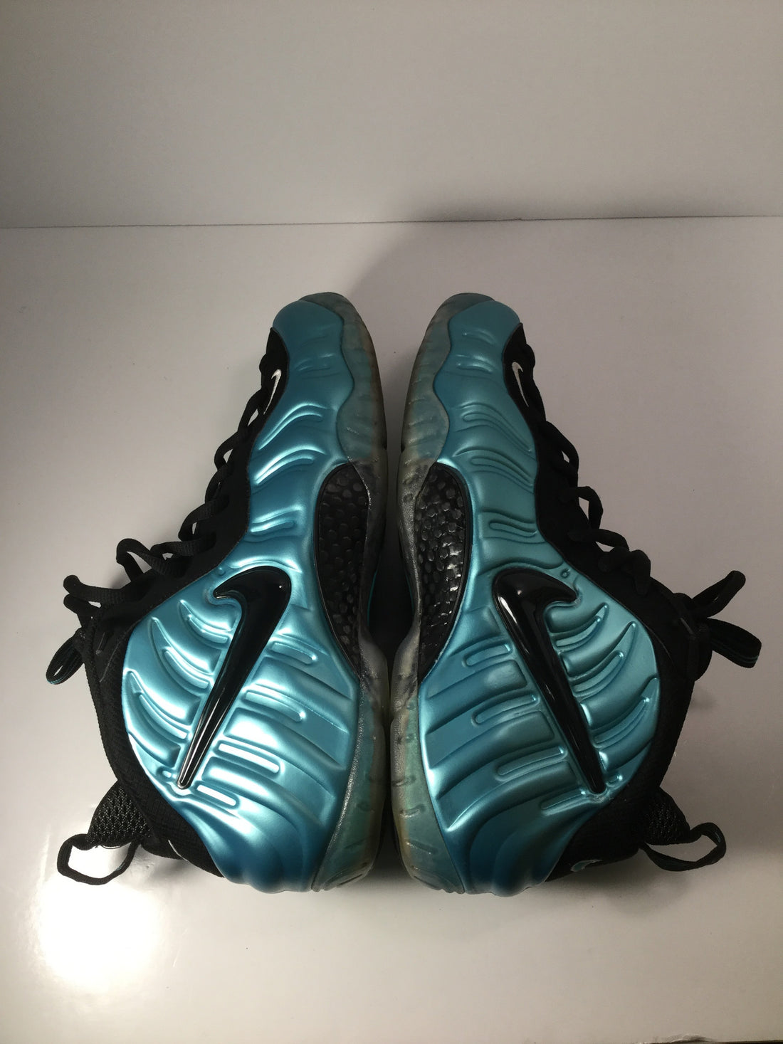 "Foamposite Pro ""Electric Blue - Used"