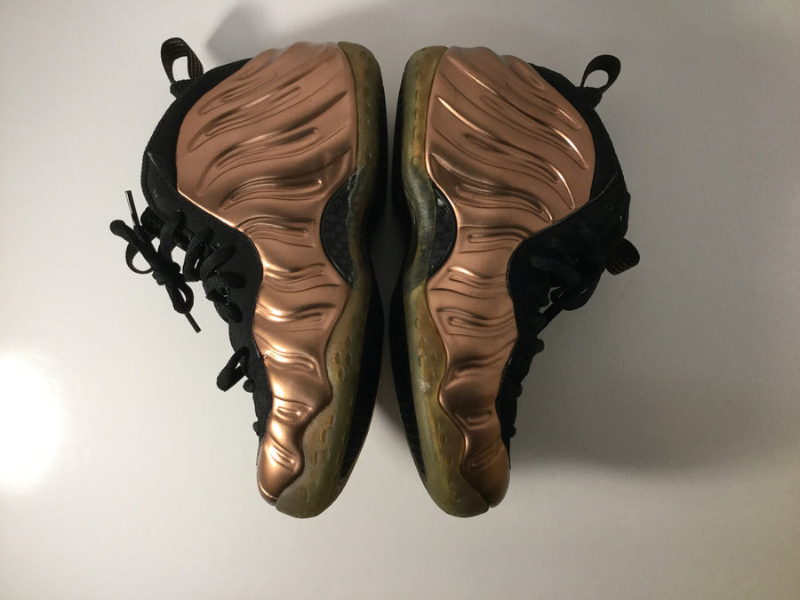 "FOAMPOSITE ONE ""Copper"" - Used"