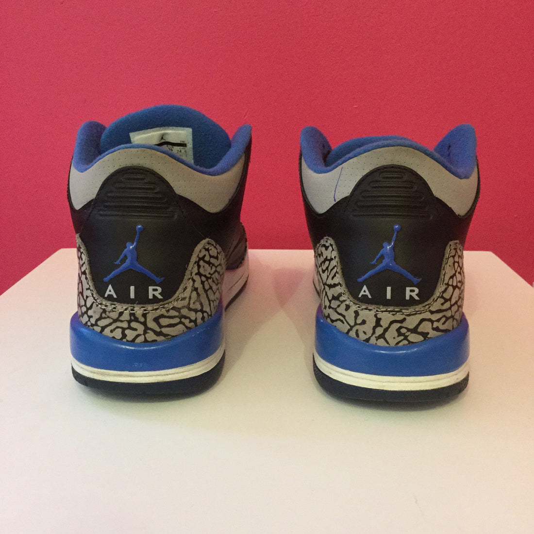 "Jordan Retro 3 ""Sport Blue"" - Used"
