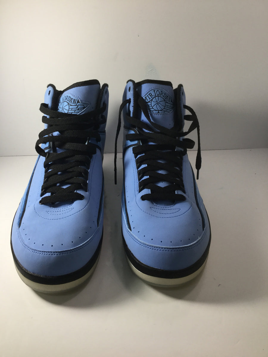 "Jordan 2 Retro ""University Blue/Black"""