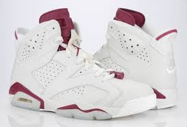 "Jordan Retro 6 ""Maroon"" - New"