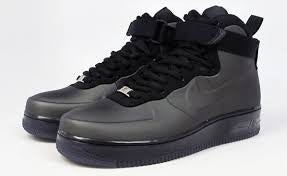 Air Force 1 High Foamposite Black