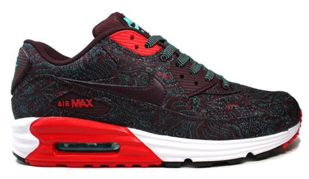 "Air Max Lunar90 ""Burgundy-Paisley"""