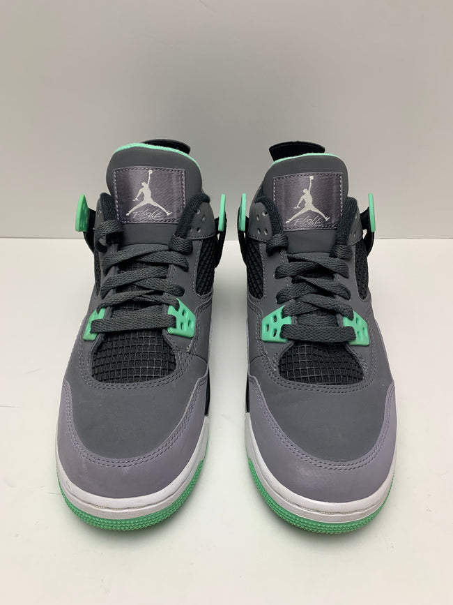 Jordan 4 Retro Green Glow (GS)