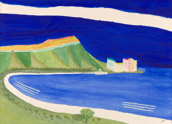 Diamond Head in Late Light