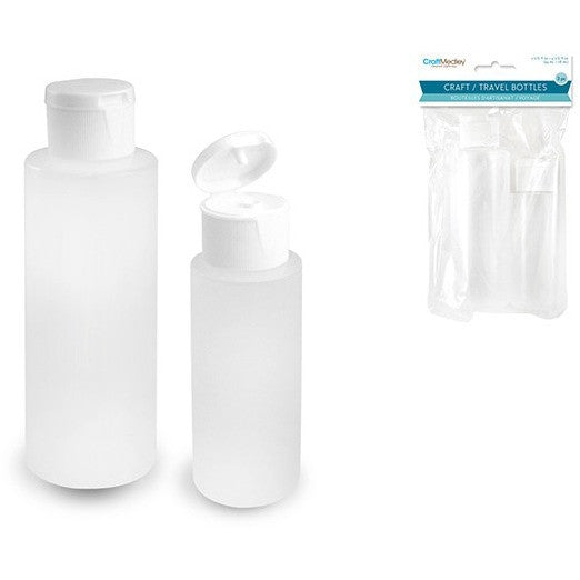 Plastic Flip Top Bottles