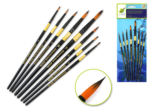 Color Factory Artist Brush Set- Round Set (8)