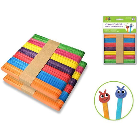 Craftwood Popsicle Stick Packs