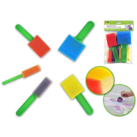 Krafty Kids Lil Artist Sponge Brush Set