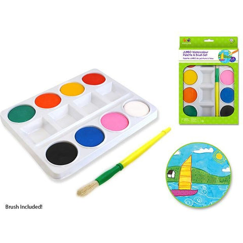 Krafty Kids Jumbo Watercolour Paint Set