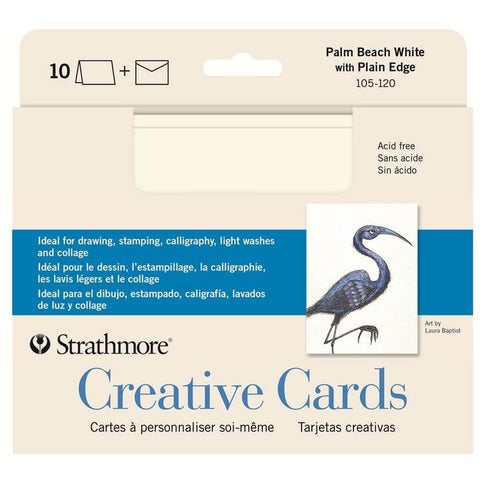 Strathmore Creative Cards - Palm Beach White