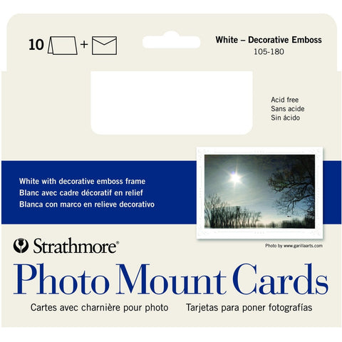 Strathmore Photo Mount Cards - Decorative