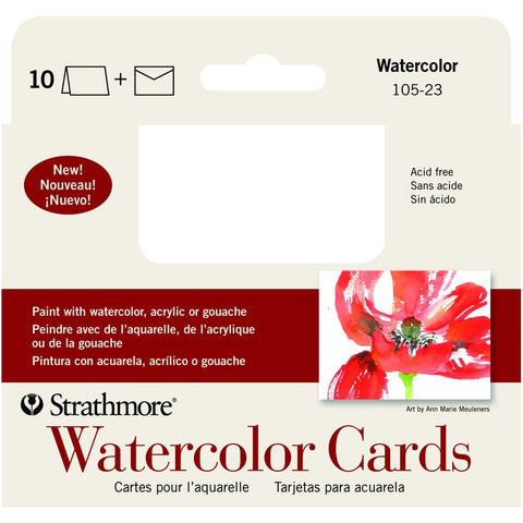 Strathmore Watercolour Cards