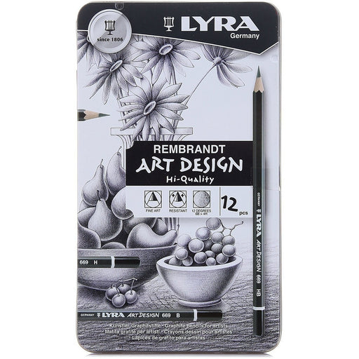 Lyra ArtDesign Graphite Pencil Set of 12