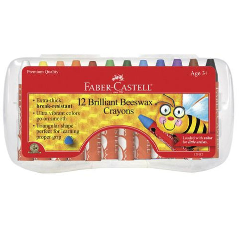 Faber-Castell Brilliant Beeswax Crayons