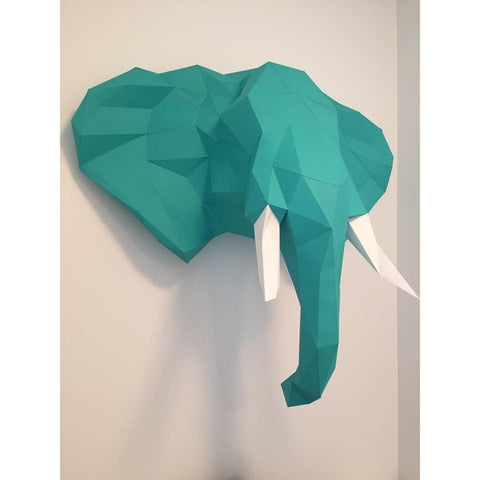 Paper Sculpture Kit - Elephant