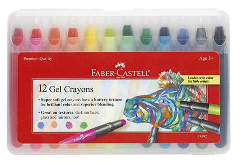 Faber-Castell Gel Crayons Case of 12